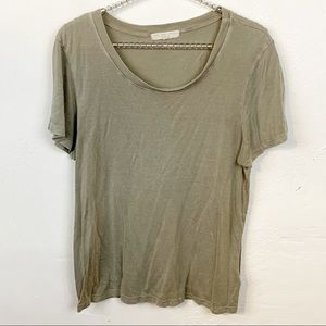 UO l Truly Madly Deeply Grey Burnout T-shirt